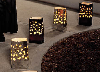 DIY Project Wedding Paper Luminarias Luminaries
