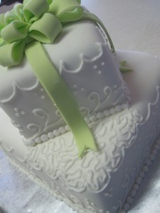 marshmallow fondant wedding cake flickr that's debs cakes
