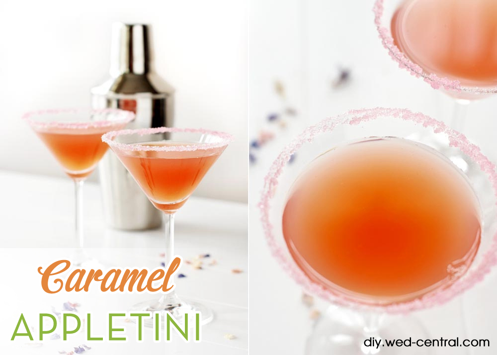 Caramel Appletini Wedding Signature Drink Recipe
